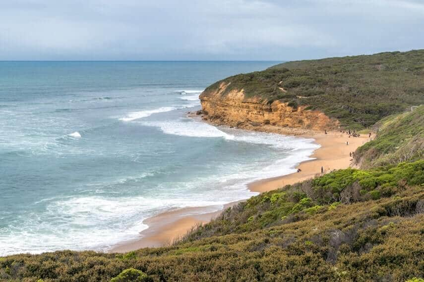 Beaches on the Great Ocean Road