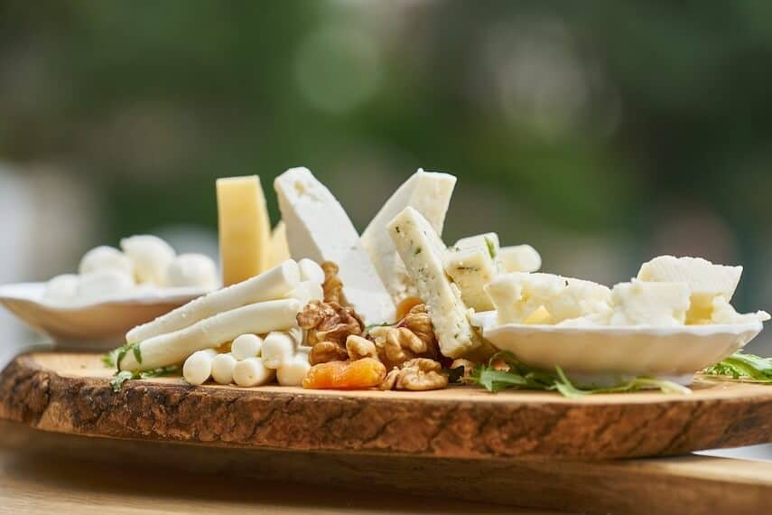 In focus Cheese Board