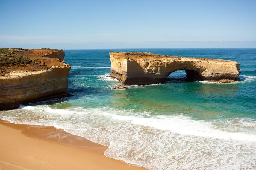 London Arch formerly London Bridge on the Great Ocean Road
