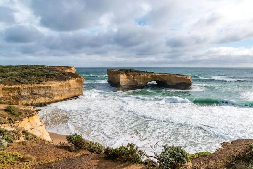 London Arch on the Great Ocean Road (formerly known as London Bridge)