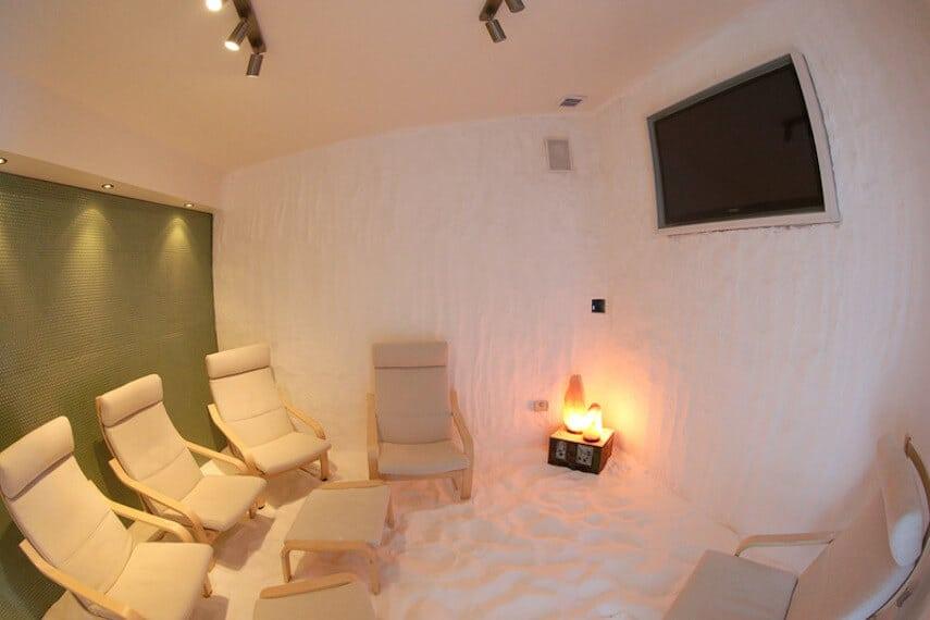 Lorne Sea Baths Salt Therapy Room