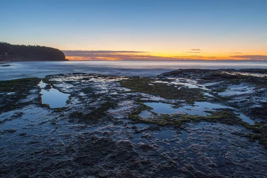 Rockpools in Lorne