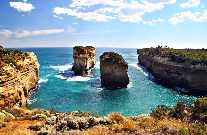 Island Archway in Port Campbell