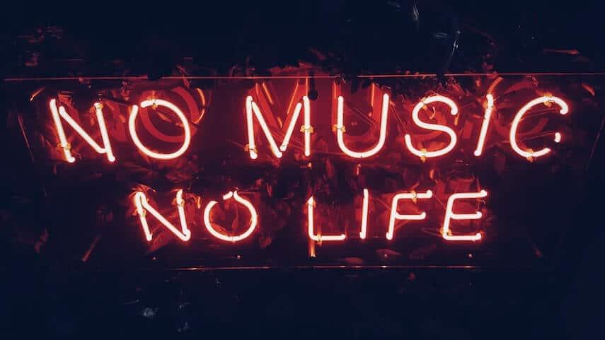 Neon sign: