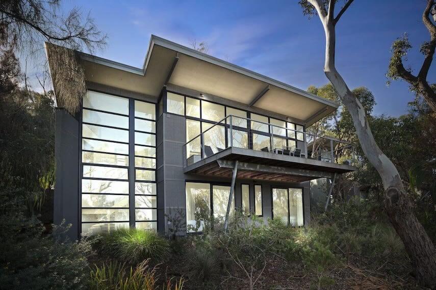 Exterior of Treetops Terrace